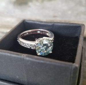 Jewelry - 4t Moissanite Sterling Silver 925 Ring
